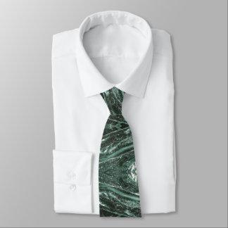 Gravata Laço esmeralda da textura de pedra de mármore