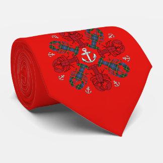 Gravata Laço feio da âncora N.S.Christmas do floco de neve