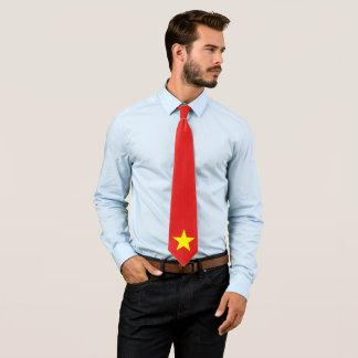 Gravata Laço feito sob encomenda da bandeira de Vietnam