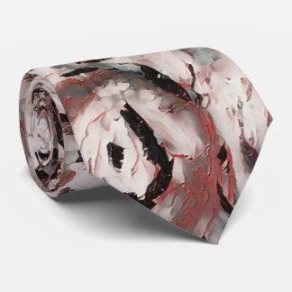Gravata Laço floral agradado do abstrato do rosa