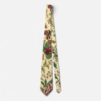 Gravata Laço floral do teste padrão da tapeçaria do