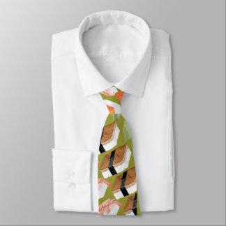 Gravata Laço Funky engraçado do sushi com seu sushi