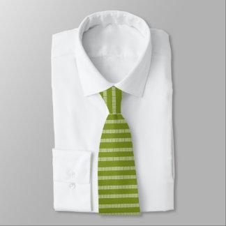 Gravata Laço grego verde do teste padrão