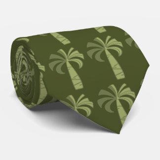 Gravata Laço havaiano do vintage da palmeira