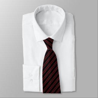 Gravata Laço incorporado do teste padrão listrado de