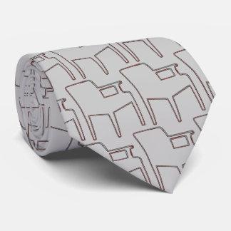 Gravata Laço linear das cadeiras