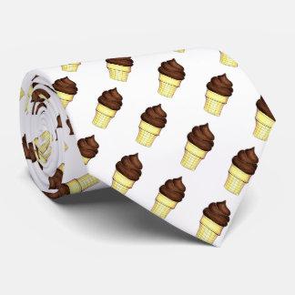 Gravata Laço macio de Foodie do cone do sorvete do saque