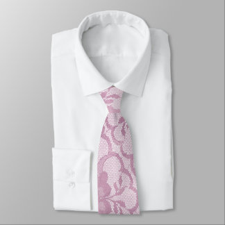 Gravata Laço malva brilhante Glam urbano do rosa da