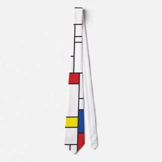 Gravata Laço minimalista simples da arte moderna de