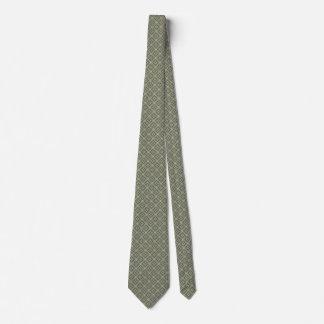 Gravata Laço modelado Ouro-e-Cinza-Cerceta