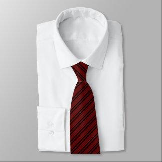 Gravata Laço preto incorporado do teste padrão listrado de