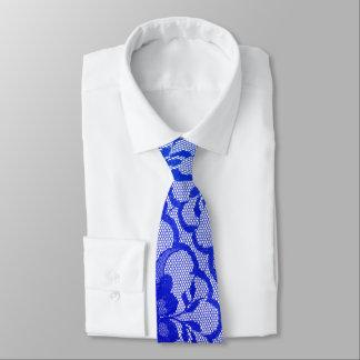 Gravata Laço real moderno da safira dos azuis cobaltos