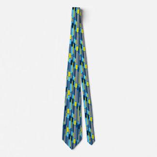 Gravata Laço retro do estilo dos anos 60 do azul e do