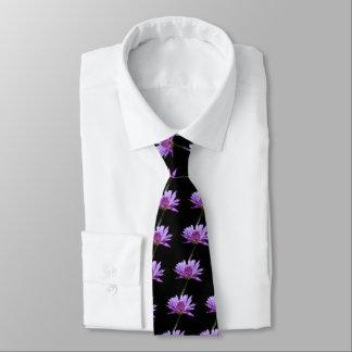 Gravata Laço roxo de Lotus Waterlily