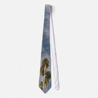 Gravata Laço tropical da palma de fã