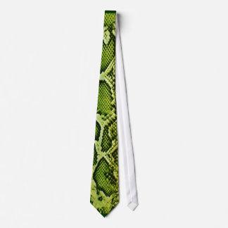 Gravata Laço verde de Snakeskin