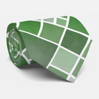 Gravata Laço verde do design do Natal da aguarela