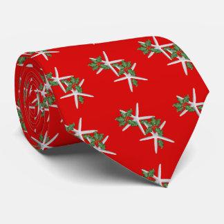 Gravata Laço vermelho brilhante da estação do Natal do