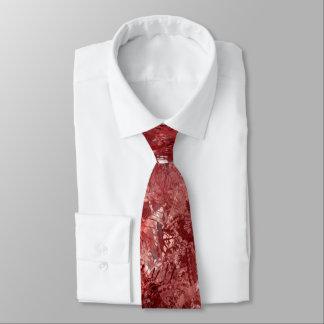 Gravata Laço vermelho da colagem do Grunge