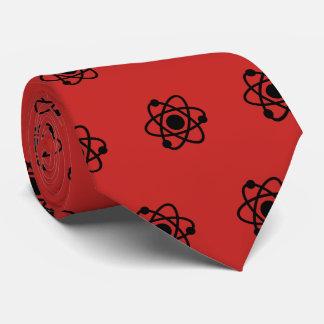 Gravata Laço vermelho do átomo