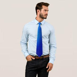 Gravata Linhas azuis