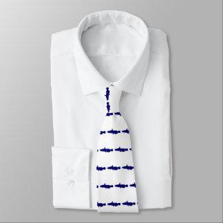 Gravata Listra do peixe-gato azul