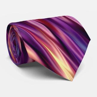 Gravata Listras coloridas por do sol