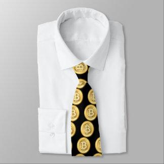 Gravata Logotipo de Bitcoin