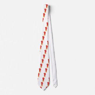 Gravata Luva de encaixotamento vermelha