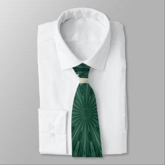 Gravata Mandala. da folha verde e de prata de Sacramento