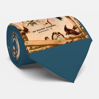 Gravata Máquina de costura padrão Co. do tradecard do