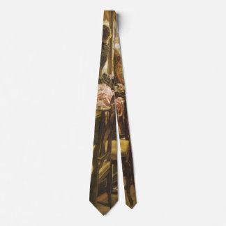 Gravata Menina de loja por Tissot, belas artes do