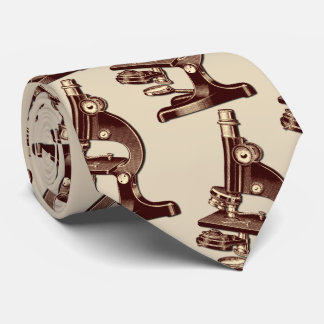 Gravata Microscópio do vintage