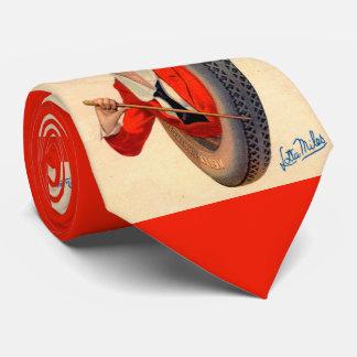 Gravata Milhas 1928 de Lotta da mascote do pneu de