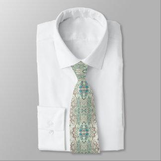 Gravata Mistura de turquesa e de cobre