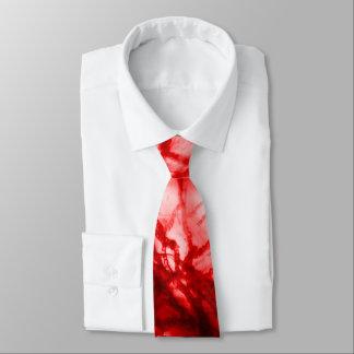 Gravata Molde Gnarled vermelho
