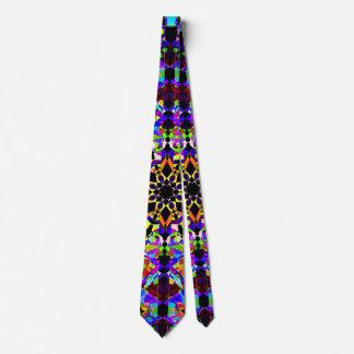 Gravata Mosaico colorido