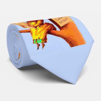 Gravata Mulher de comércio da cabeça do tomate do cartão