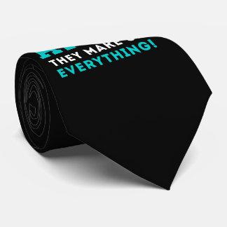 Gravata Nunca confie um átomo, eles compo tudo