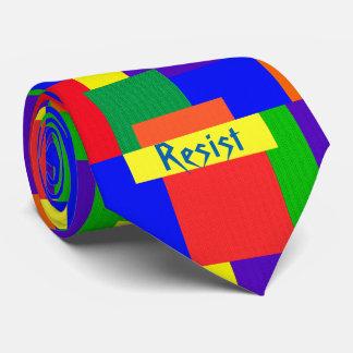Gravata O arco-íris resiste o laço do design da edredão de