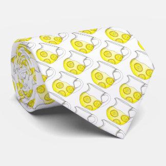 Gravata O citrino amarelo do limão faz o laço dos limões