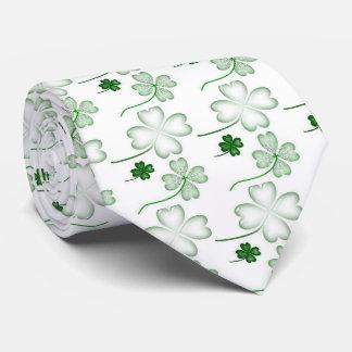 Gravata O dia de St Patrick, trevo verde, bonito