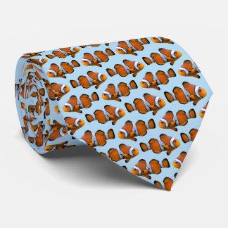 Gravata O dobro do laço da agitação de Clownfish tomou