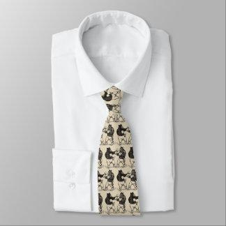 Gravata O encaixotamento do vintage carrega a linha arte
