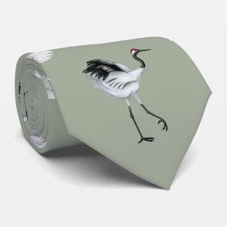 Gravata O japonês Cranes o laço dos homens
