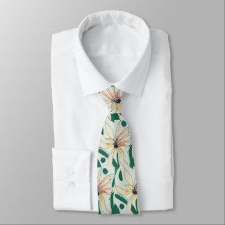 Gravata O laço de seda dos homens, coral, pêssego, verde,
