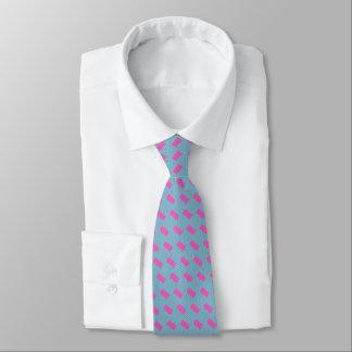 Gravata O laço de seda dos homens, roxo, aqua