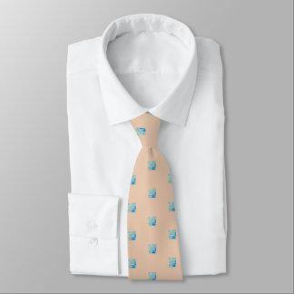 Gravata O laço de seda tan dos homens com design dos