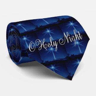 Gravata O laço dos homens azuis da noite santamente de O