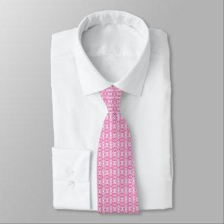 Gravata O laço modelado rosa dos homens
